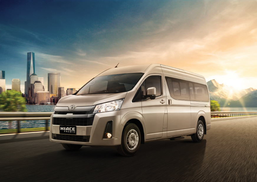 The All New Hiace Premio