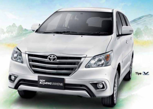 New Toyota kijang Facelift